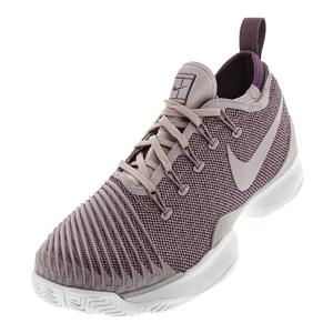 Women`s Air Zoom Ultra React Tennis Shoes Elemental Rose and Pro Purple