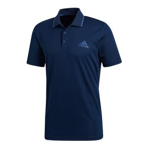 Men`s Club Textured Tennis Polo Collegiate Navy