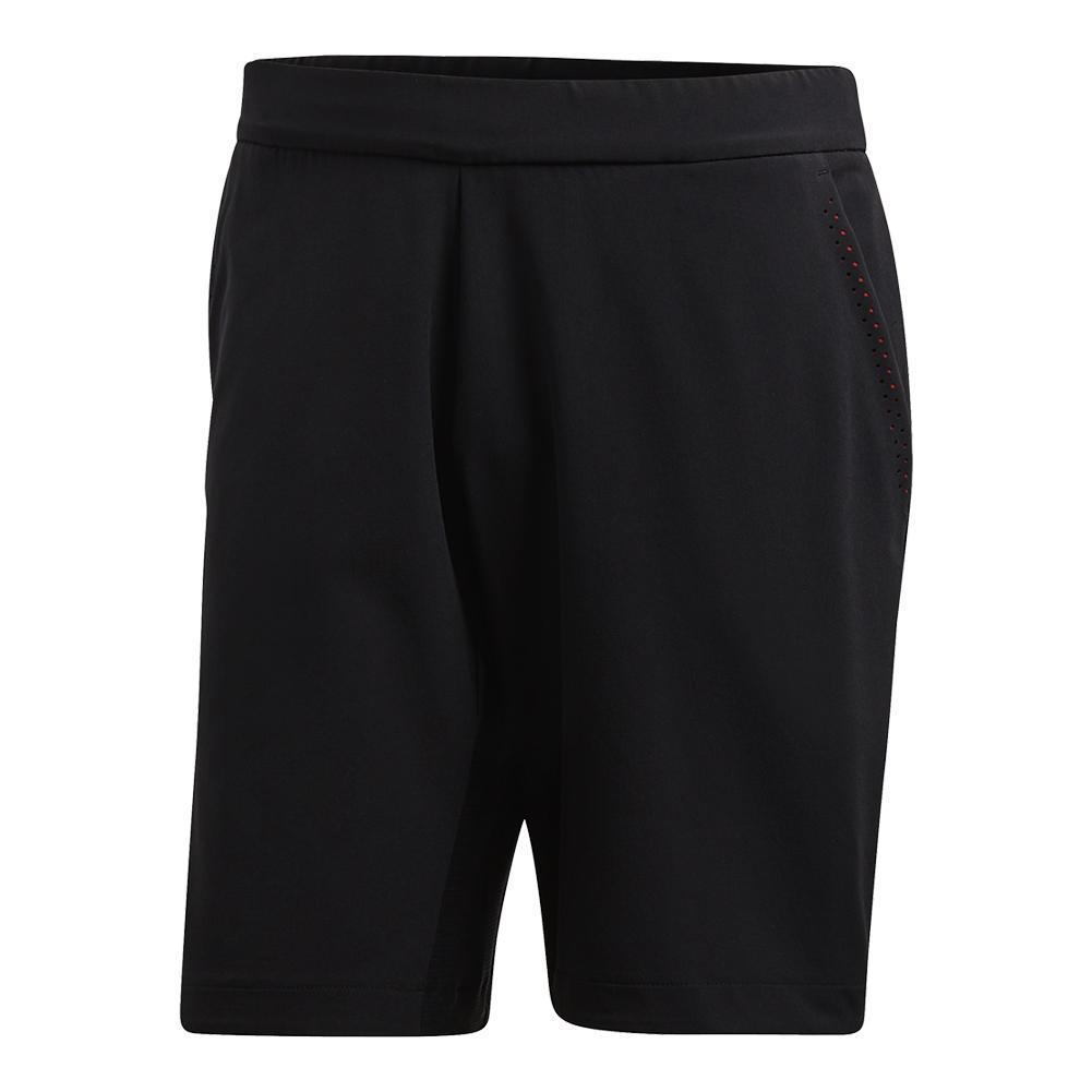 Men's Barricade Bermuda Tennis Short Black