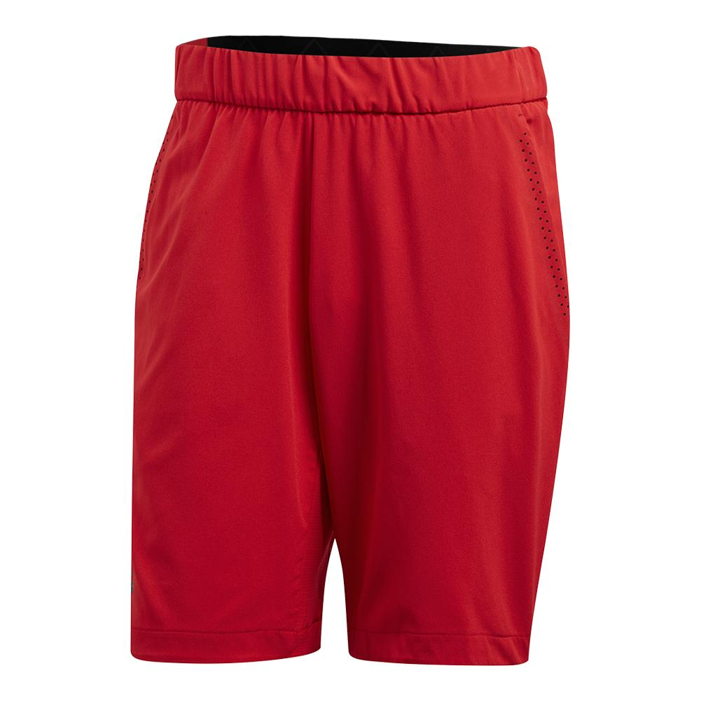 Men's Barricade Bermuda Tennis Short Scarlet