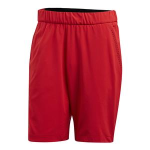 Men`s Barricade Bermuda Tennis Short Scarlet
