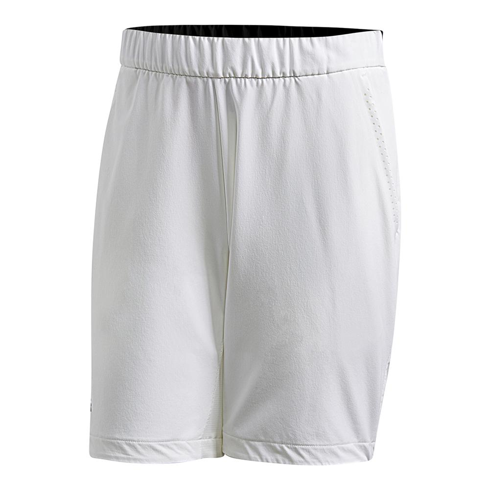 Men's Barricade Bermuda Tennis Short White