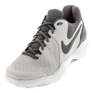 Men`s Air Zoom Resistance Tennis Shoes Vast Gray and Gunsmoke