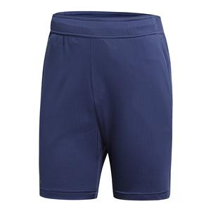 Men`s Climachill Tennis Short Noble Indigo