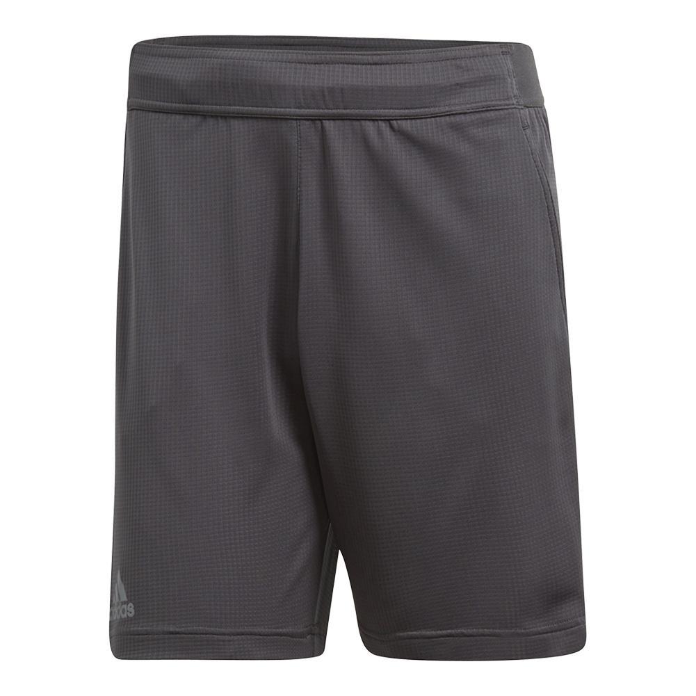 Men's Climachill Tennis Short Carbon