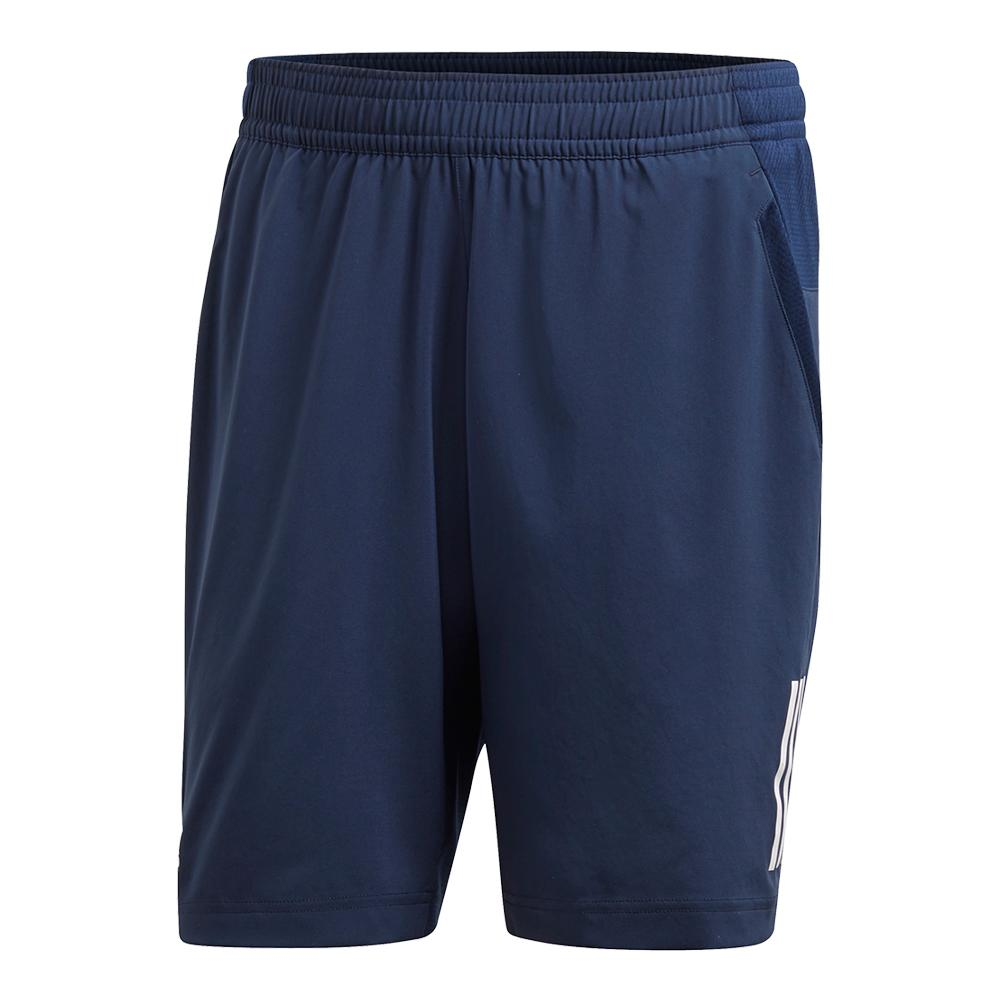 Men's Club 3 Stripes Tennis Short Collegiate Navy