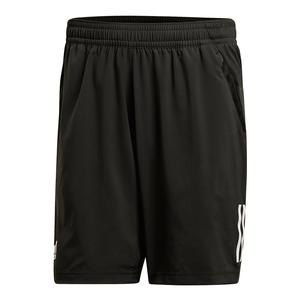 Men`s Club 3 Stripes Tennis Short Black