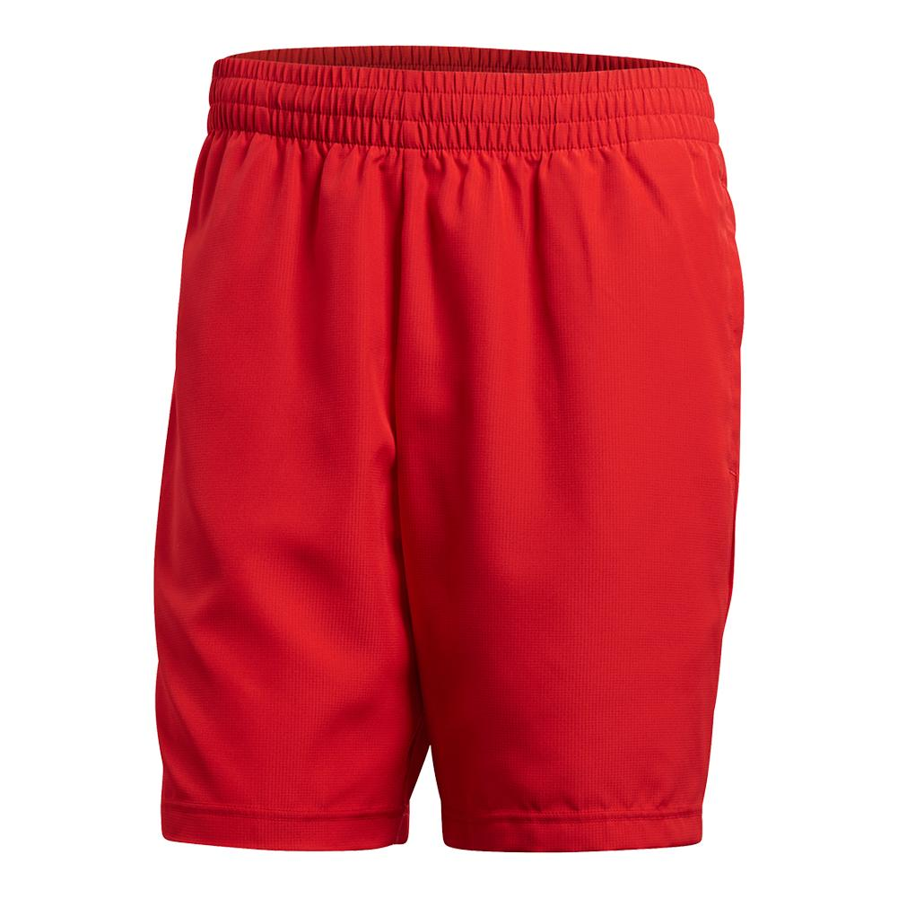 Men's Club Bermuda Tennis Short Scarlet
