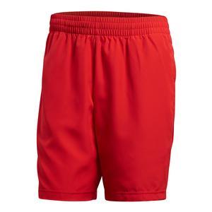 Men`s Club Bermuda Tennis Short Scarlet