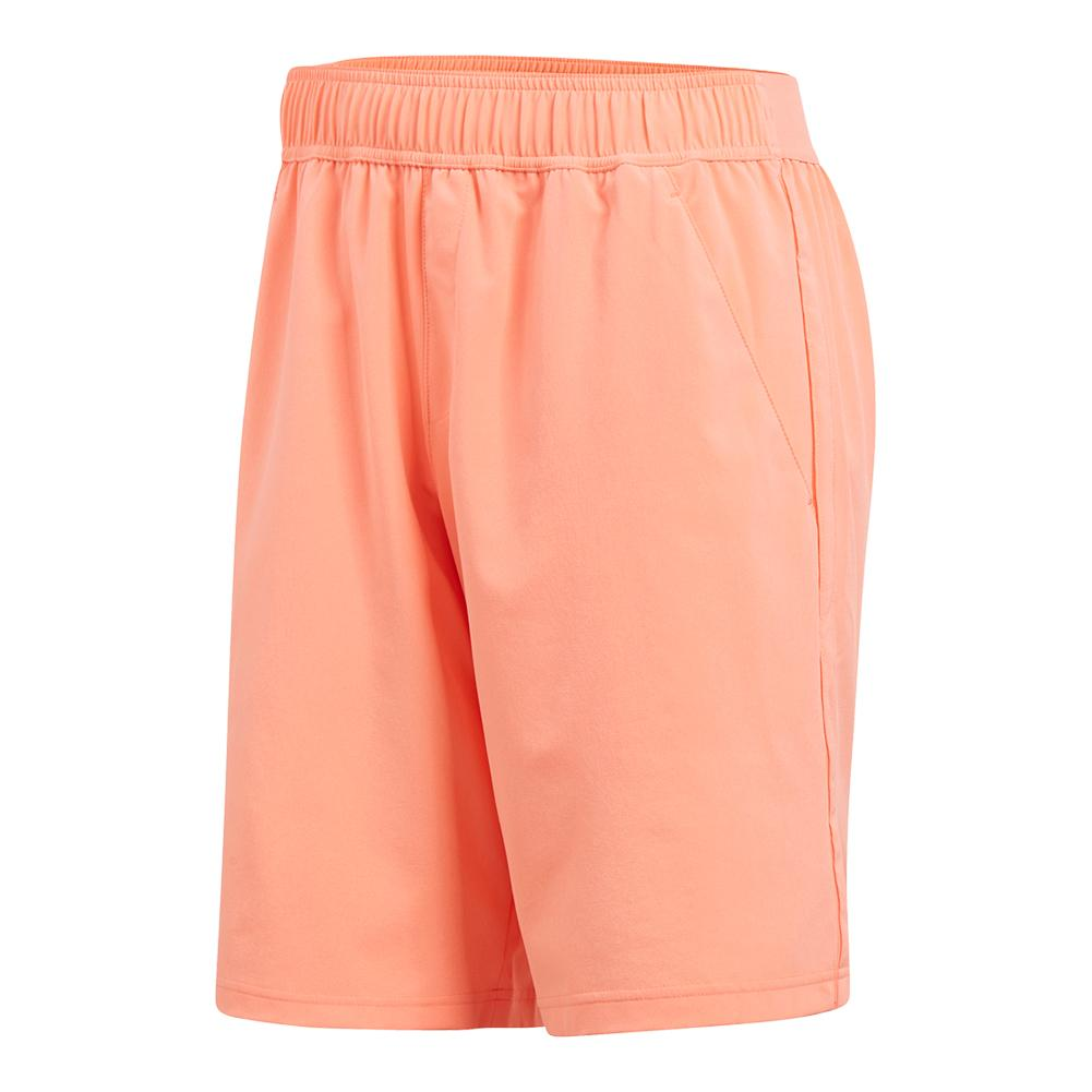 Men's Advantage Tennis Short Chalk Coral