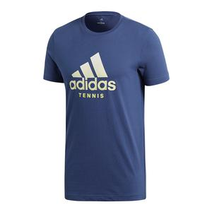 Men`s Logo Tennis Tee Noble Indigo