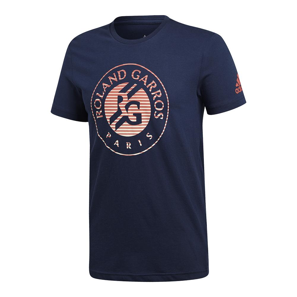 Men's Roland Garros Tennis Tee Collegiate Navy