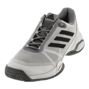 Men`s Barricade Club Tennis Shoes White and Gray