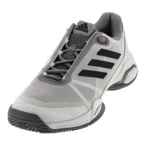 Juniors` Barricade Club Tennis Shoes White and Gray