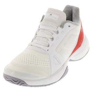 Women`s Stella McCartney Barricade Boost Tennis Shoes White and Callistos