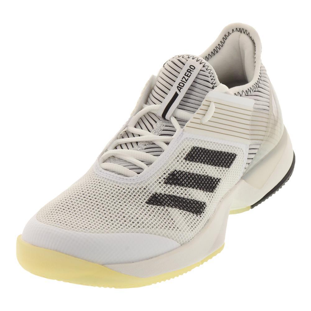 Women's Adizero Ubersonic 3.0 Tennis Shoes White And Black