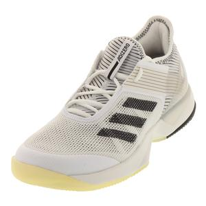 Women`s Adizero Ubersonic 3.0 Tennis Shoes White and Black