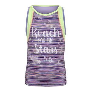 Girls` Reaching Stars Tennis Tank Lilac
