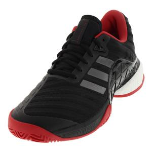 Men`s Barricade 2018 Boost Tennis Shoes Black and Night Metallic