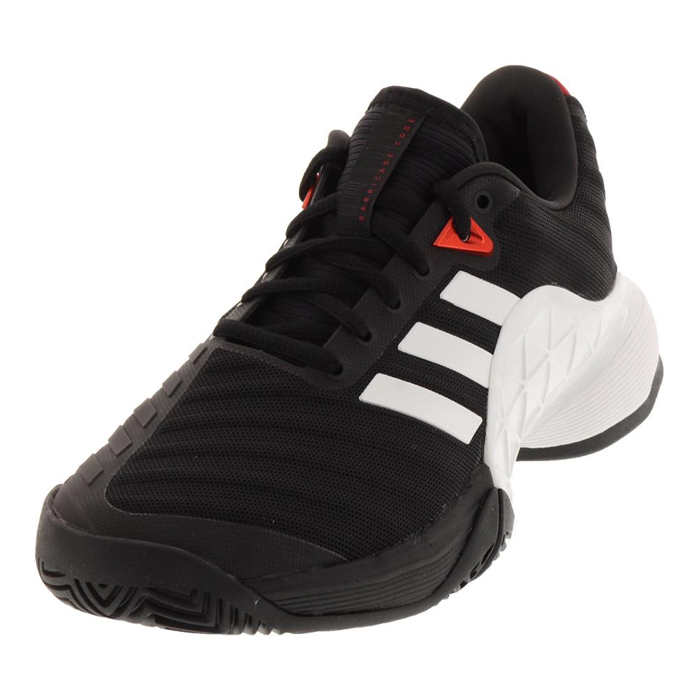 Juniors ` Barricade 2018 Tennis Shoes Black And White