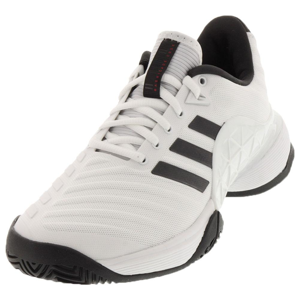 Juniors ` Barricade 2018 Tennis Shoes White And Black