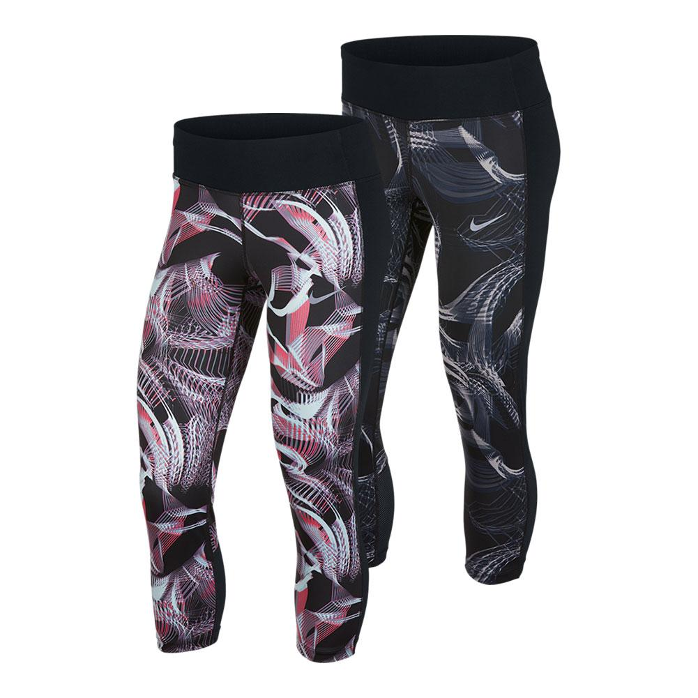 Women's Power Running Crops