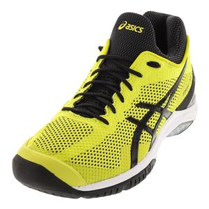 Unisex Court FF Tennis Shoes Sulphur Springs and Black
