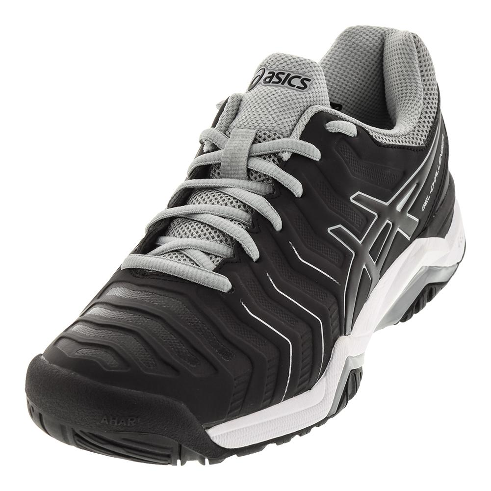 Men's Gel- Challenger 11 Tennis Shoes Black And Mid Gray