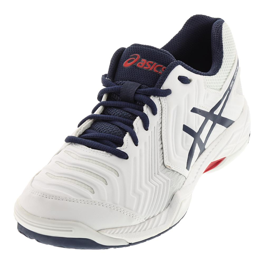 Men's Gel- Game 6 Tennis Shoes White And Insignia Blue
