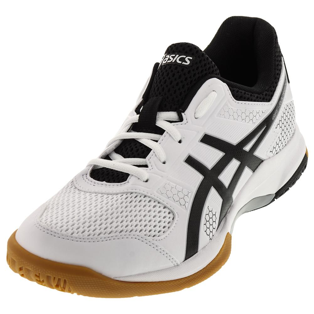 ASICS ASICS Men's Gel- Rocket 8 Shoes White And Black
