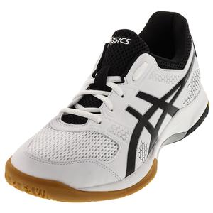 Men`s Gel-Rocket 8 Shoes White and Black