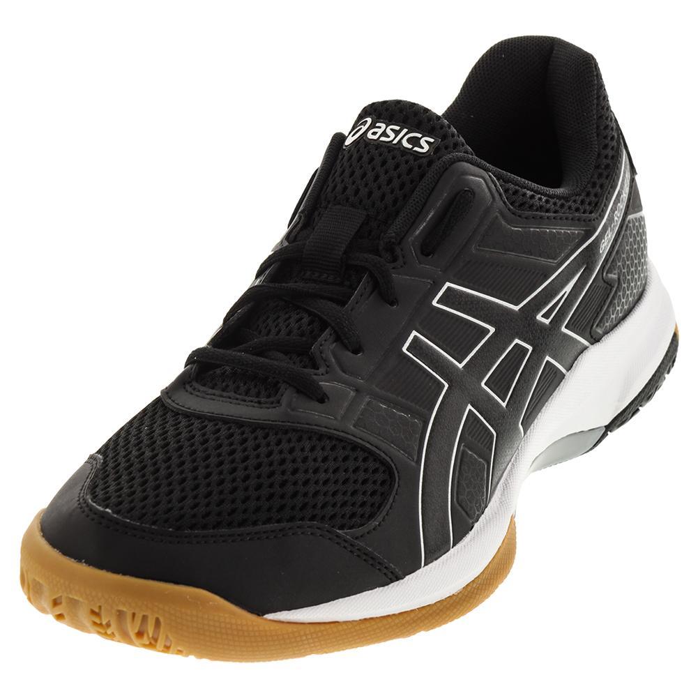 Men's Gel- Rocket 8 Shoes Black And White