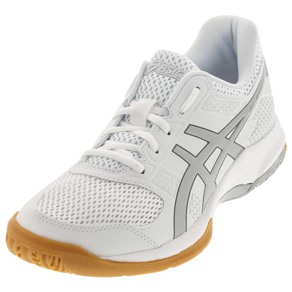 Women's Gel- Rocket 8 Shoes White And Silver