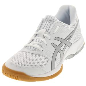 Women`s Gel-Rocket 8 Shoes White and Silver