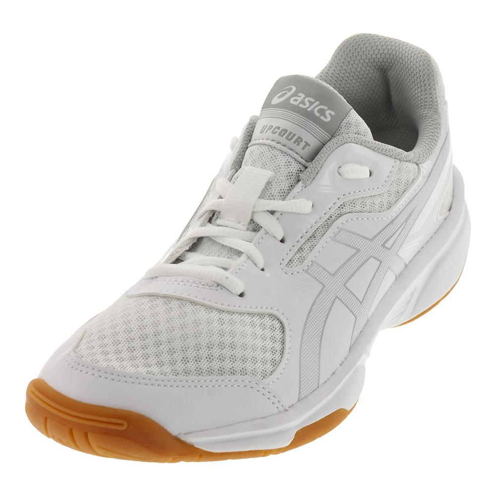 Women's Upcourt 2 Shoes White And Silver