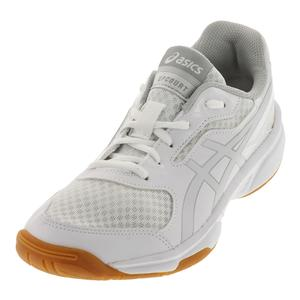 Women`s Upcourt 2 Shoes White and Silver