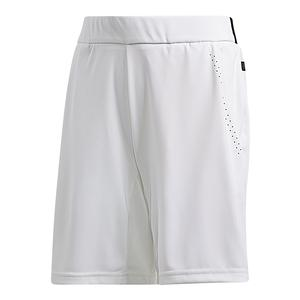 Boys` Barricade Bermuda Tennis Short White