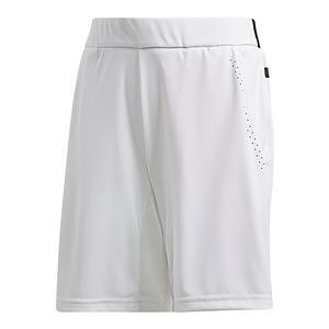Boys` Barricade Bermuda Tennis Short White