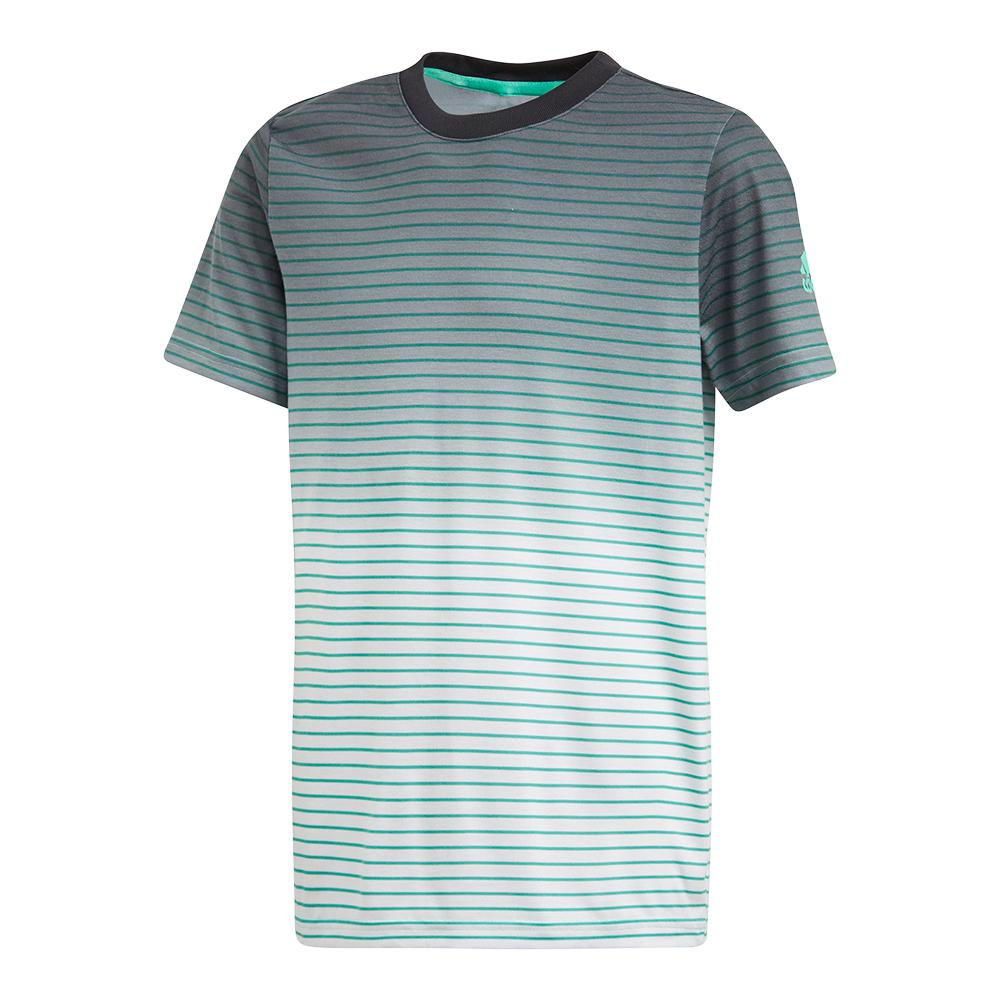 Boys ` Melbourne Tennis Tee Hi- Res Green
