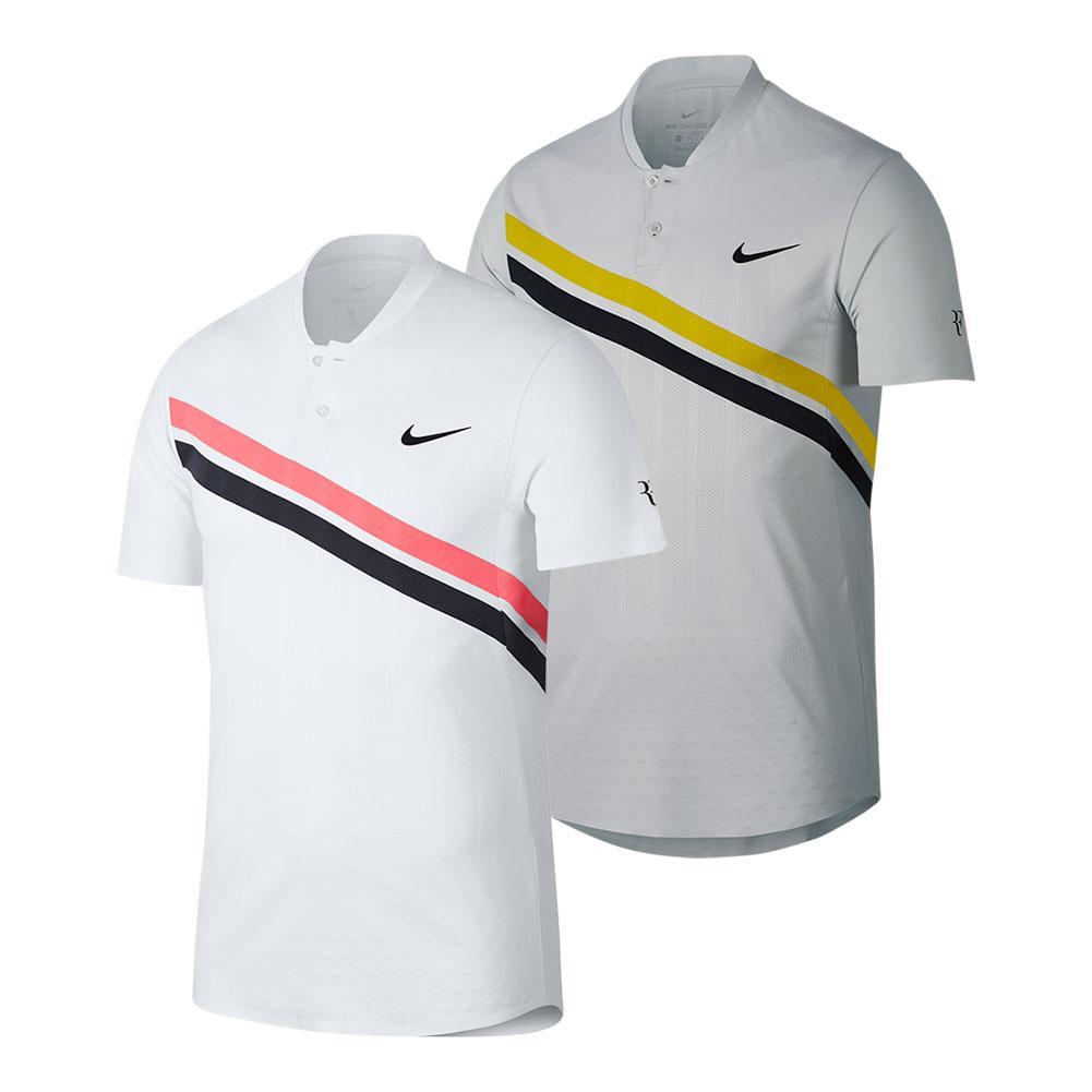Men's Roger Federer Court Zonal Cooling Advantage Tennis Polo