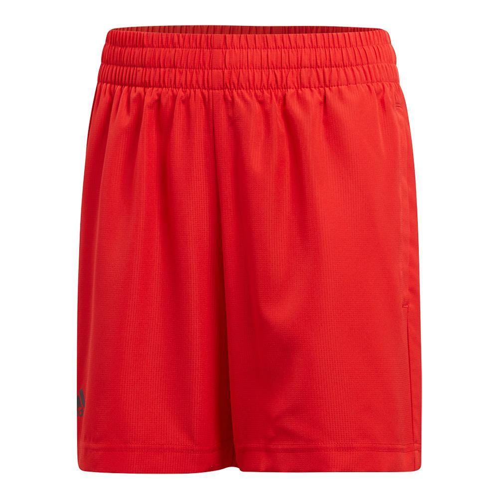 Boys ` Club Tennis Short Scarlet