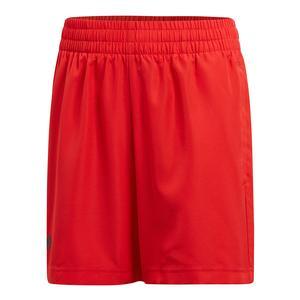 Boys` Club Tennis Short Scarlet