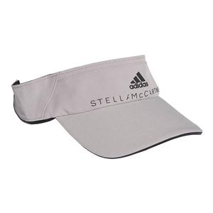 Women`s Stella McCartney Tennis Visor Pearl Gray and Black