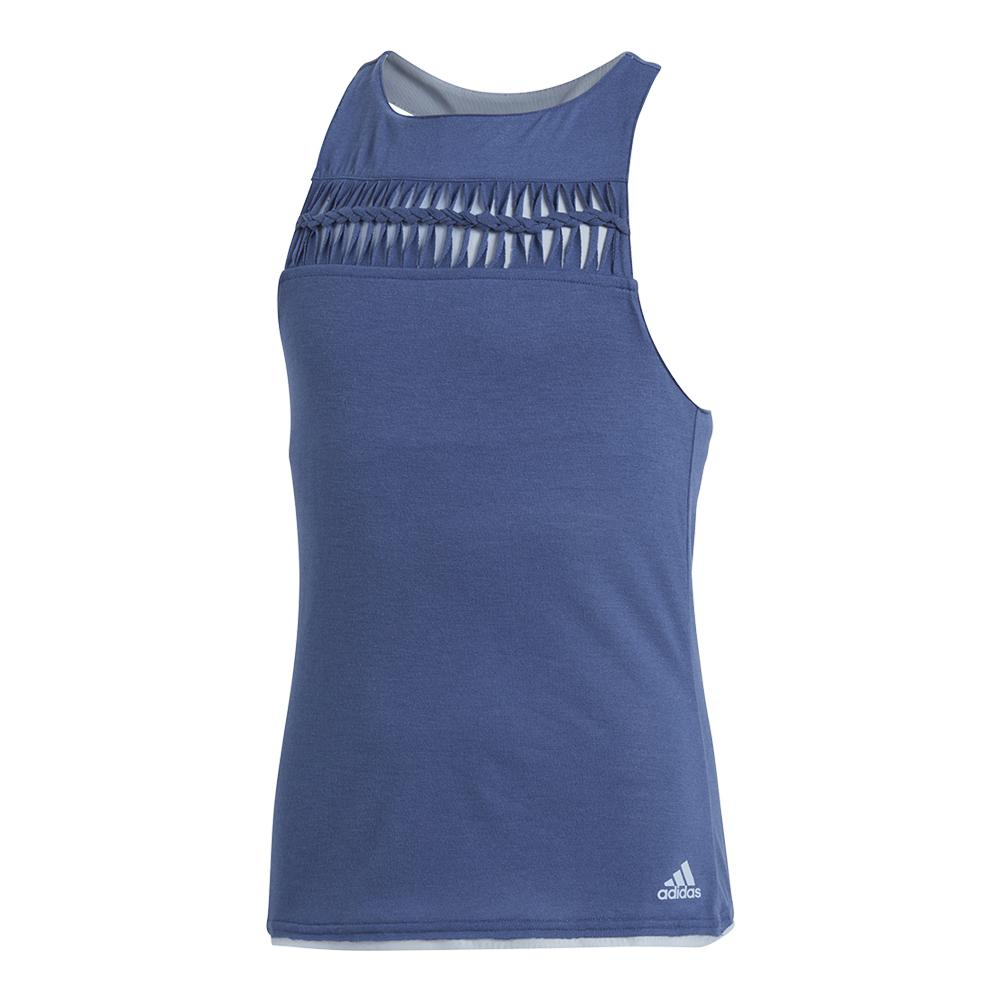 Girls ` Melbourne Tennis Tank Noble Indigo