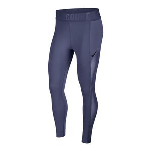 Women`s Court Power Tennis Tights Blue Recall