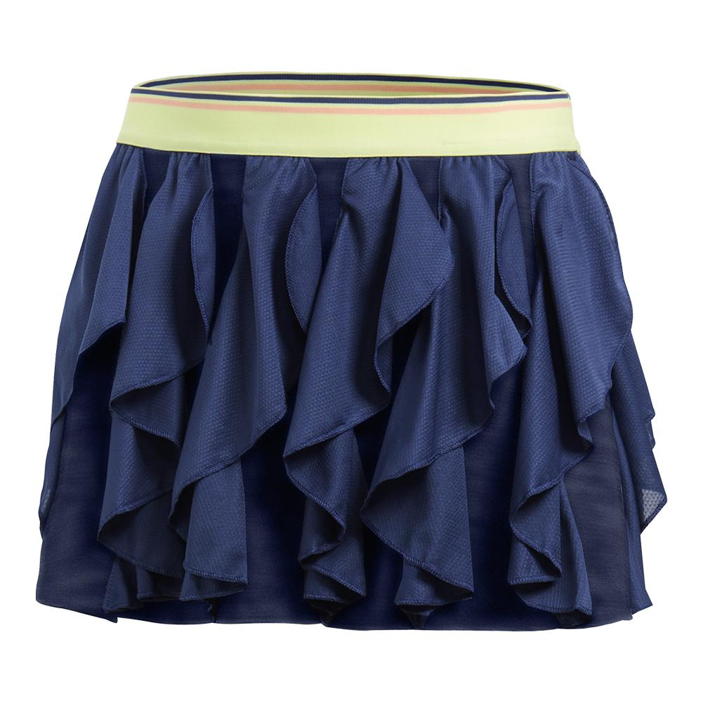 Girls ` Frilly Tennis Skort Noble Indigo