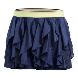 Girls` Frilly Tennis Skort Noble Indigo