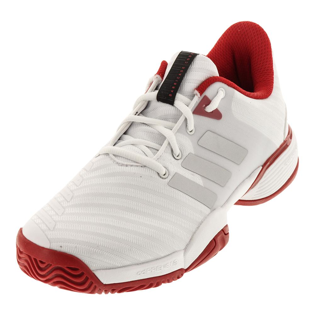 Juniors ` Barricade 2018 Tennis Shoes White