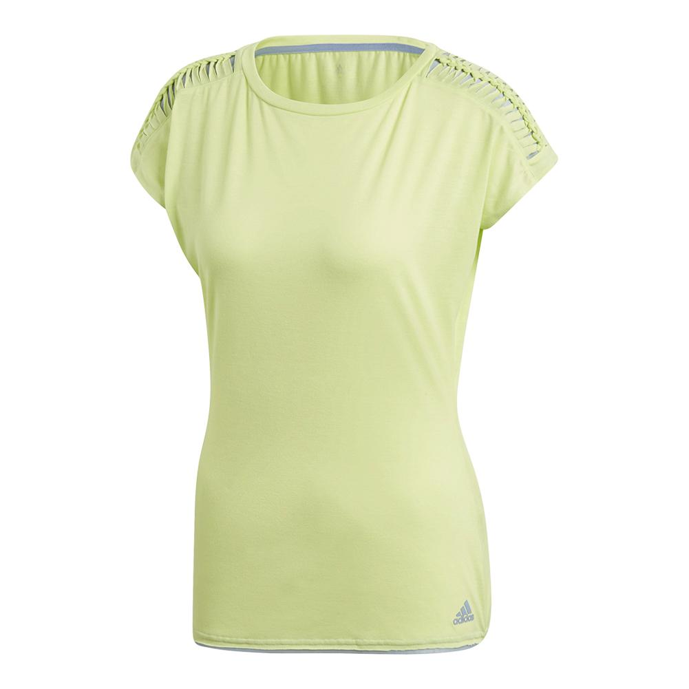 Women's Melbourne Tennis Tee Semi Frozen Yellow
