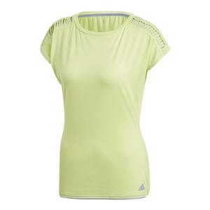 Women`s Melbourne Tennis Tee Semi Frozen Yellow